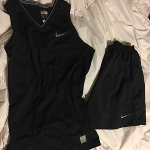 Women's Nike running outfit